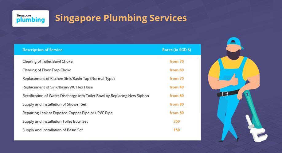 Singapore plumbing services