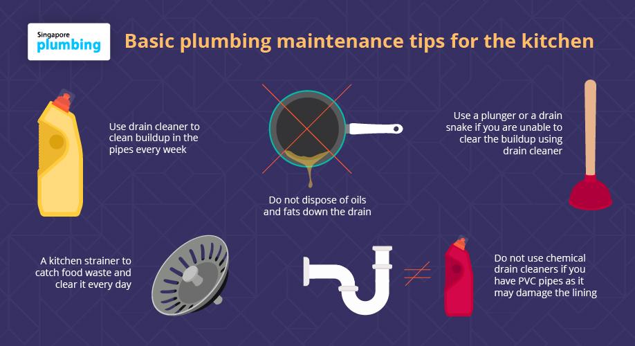 basic plumbing maintenance tips for the kitchen